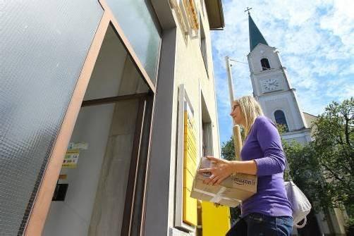 Die Postfiliale Hatlerdorf bleibt offen, bis ein neuer Partner gefunden wird. Foto: VN/Hofmeister