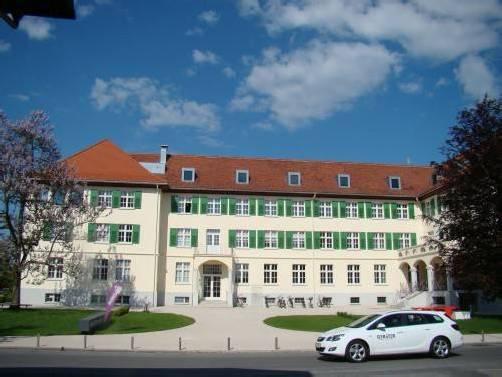 Die Servicestelle ist im neuen Lustenauer Betreuungszentrum Schützengarten untergebracht. fho