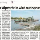 Alpenrhein-Hochwasser- Sicherheit durch Notentlastung
