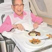 Mit 106 Jahren nicht reisemüde