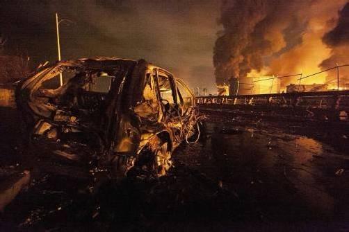 Ein Gasleck hat die Explosion ausgelöst, bei der mindestens 39 Menschen gestorben sind. Foto: Reuters