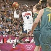 Triple Double von US-Star LeBron James