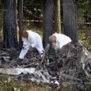 Vier Menschen starben bei Flugzeugabsturz