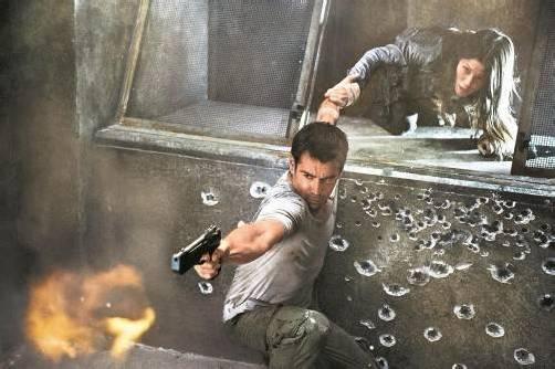 """Es wird geballert und geprügelt, was das Zeug hält. Doch auch der Humor kommt bei """"Total Recall"""" nicht zu kurz. Fotos: Sony Pictures"""