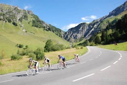 Für die beiden Radtouren quer durch Vorarlberg herrscht am Sonntag ideales Wetter. foto: veranstalter