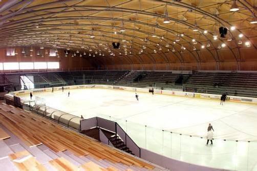 Für eine Viertelmillion Euro wird die Eishalle adaptiert, um den Ansprüchen der höchsten Eishockeyliga zu genügen. Foto: zellhofer