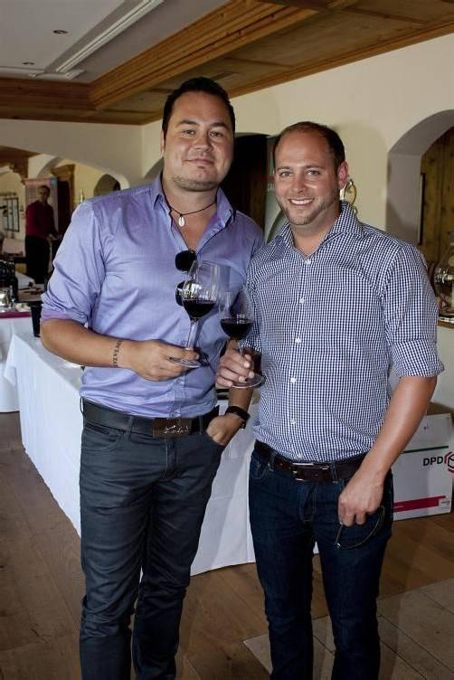 Gastronom Mike Erath (l.) und Boris Gehrer.