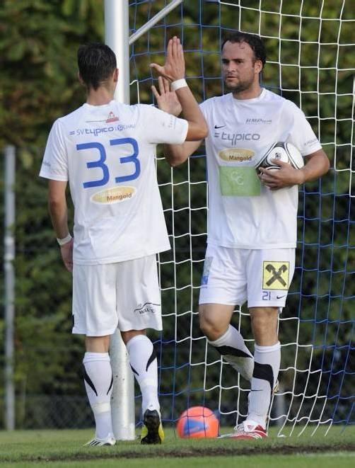 Gleich zwei Treffer erzielte Pablo Chinchilla (r.) bei Lochaus Cup-Erfolg.
