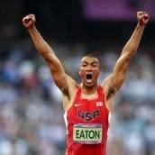 Eaton ist der König der Leichtathleten