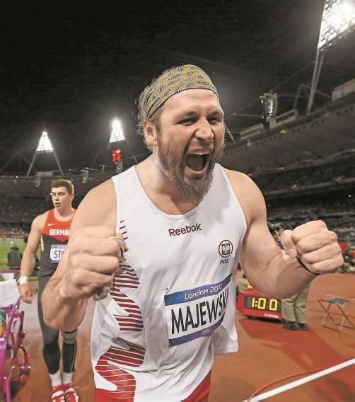 Gold mit 21,89 Metern: Tomasz Majewski. Foto: ap