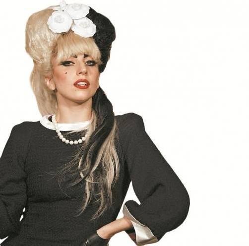 Gota Gaga lässt sich nicht lumpen. Foto: AP