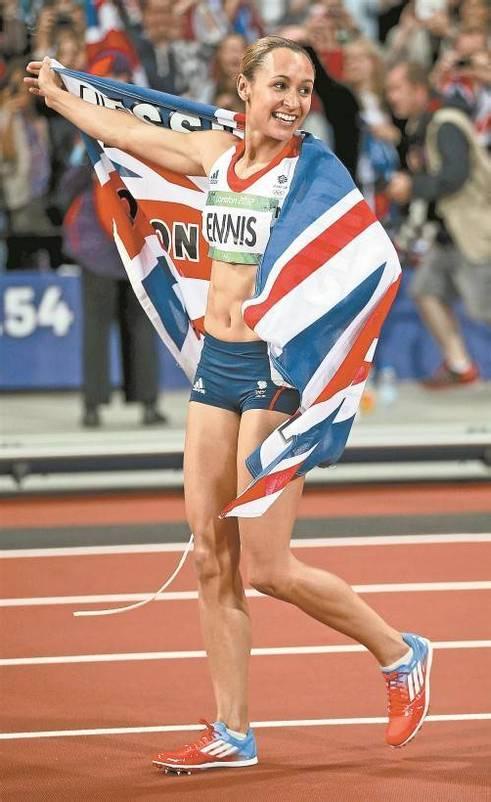 Großbritannien profitiert von Jessica Ennis und Co. Foto: ap