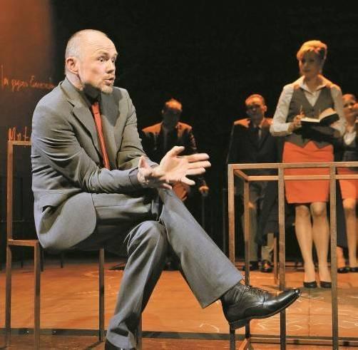 Hanno Dreher war ein Top Dog von Format und wurde nun für die Geiger-Uraufführung engagiert. Karussell