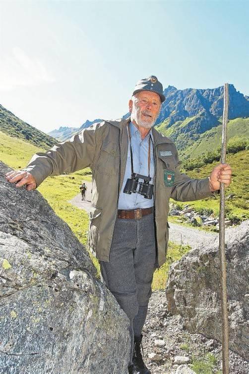 Helmut Dobler an alter Wirkungsstätte. fotos: vn/hartinger