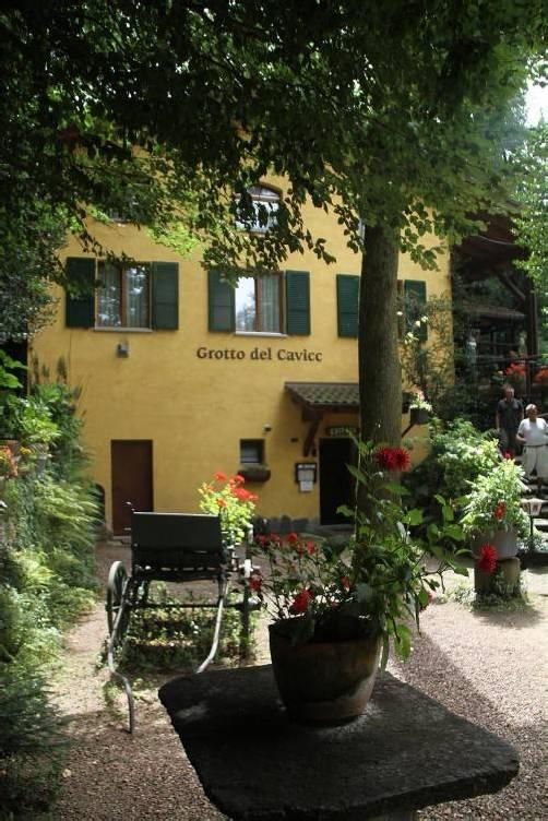 Hermann Hesses Lieblingsgaststätte in Montagnola. Foto: Stinn