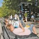 Stadtlesen gastiert in Seeanlagen