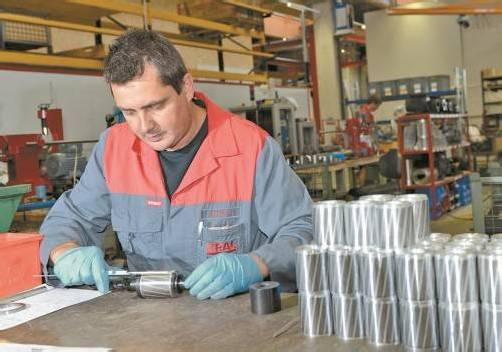 In die Produktionshalle wurden  16 Millionen Euro investiert.  VN
