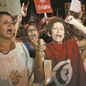 Frauen-Demo in Tunesien