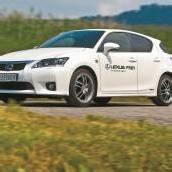 Lexus-Hybrid im Sportkleid