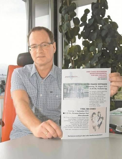 Manfred Kräutler hofft auf viele großzügige Gönner für sein Schülerbetreuungsprojekt. Foto: VN/Paulitsch