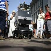 Roboter Obelix als künftiger Stadtführer