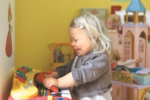 Menschen mit genetischen Behinderungen nicht den Lebenswert  absprechen. foto: dpa