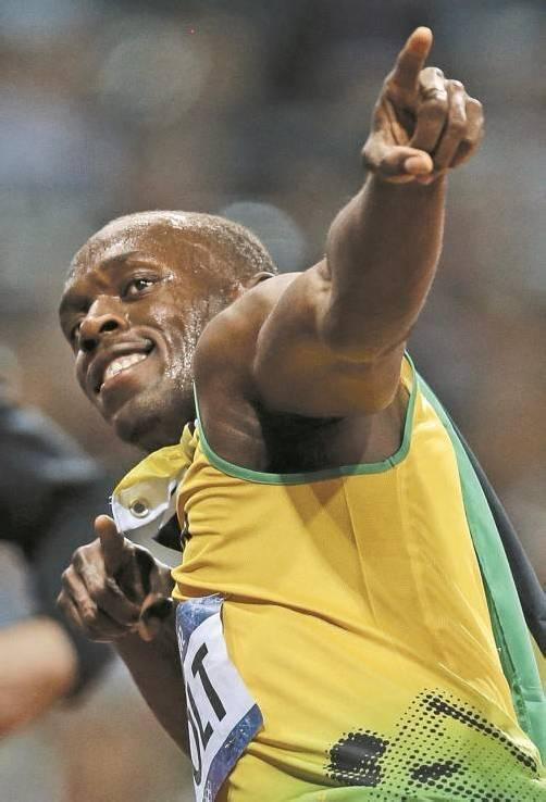 Mit Gold über 200 m ist Usain Bolt der Legendenstatus sicher. Foto: ap