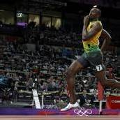 Usain Bolt stürmt den Olymp