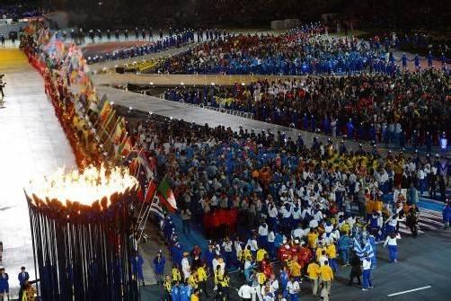 Mit einer rauschenden Party verabschiedete sich London nach 16 Tagen voller sportlicher Höhepunkte von den Olympischen Sommerspielen. Foto: ap