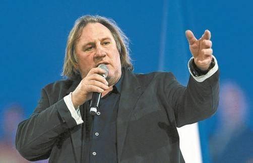 Mit ihm sollte man besser nicht scherzen: Schauspieler Gérard Depardieu.