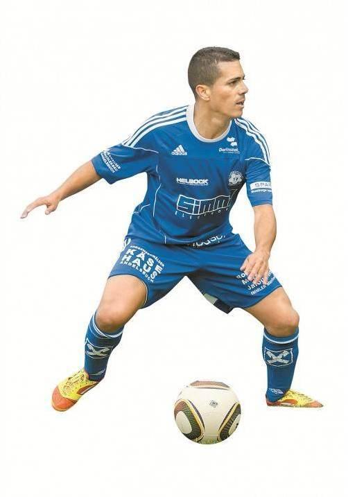Neun Tore erzielte er in der Vorsaison für Andelsbuch, jetzt steht das Comeback von Ueverton da Silva bevor. Foto: Berchtold