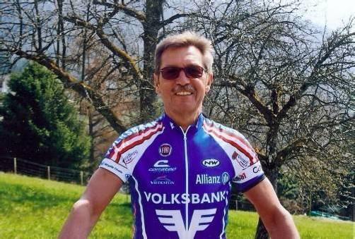 Noch immer schnell auf dem Rad: Nino Michelon. Foto: privat