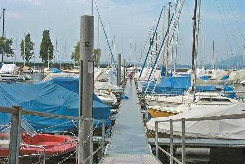 Nur die wenigsten Boote auf dem Bodensee sind versperrt. Foto: VN
