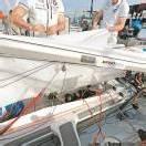 Das 470er-Boot strebt Top-sechs-Rang an