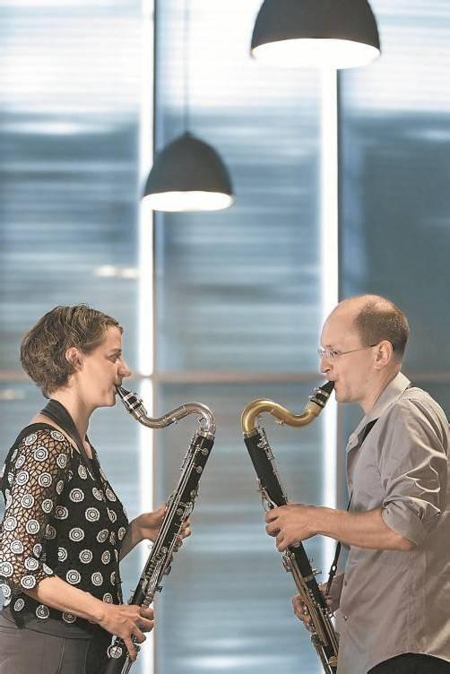 Petra Stump und Heinz-Peter Linshalm im KUB. Foto: BF/Köhler