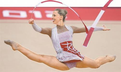 Saubere Übungen, nur die Noten haben nicht gestimmt: Caroline Weber lieferte bei den Sommerspielen in London eine reife Leistung ab. Foto: apa