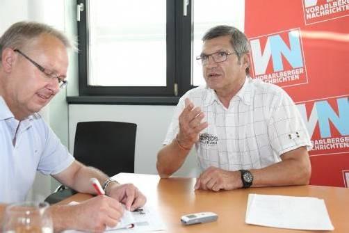 Schullandesrat Siegi Stemer würde sich eine neue Ferienordnung mit kürzeren Sommerferien wünschen. Foto: VOL.AT