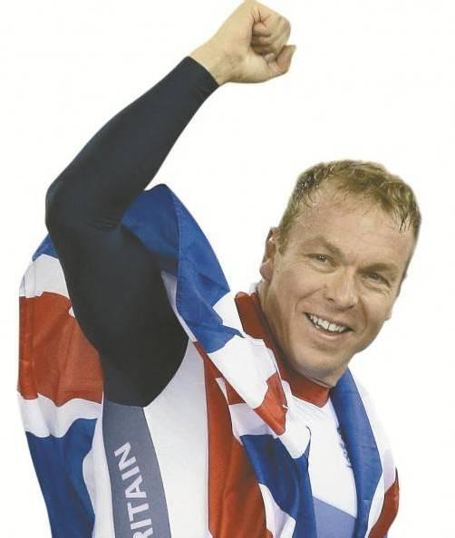 Sechsfacher Goldmedaillengewinner Chris Hoy.