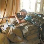 Häuserkampf in syrischen Großstädten