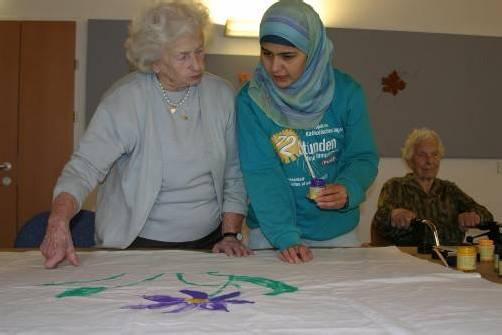 Solidarität zwischen Generationen. Foto: Katholische Kirche