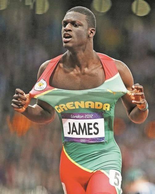 Start in Linz über 400 m: Olympiasieger Kirani James. Foto: ap