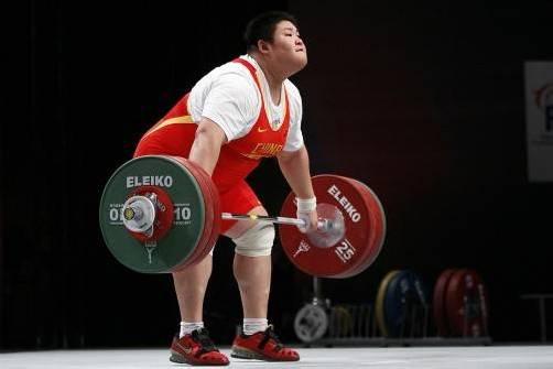 Stemmte 333 Kilo in die Höhe: Zhou Lulu. Foto: ap