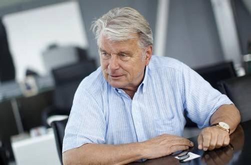 """Strabag-CEO Hans Peter Haselsteiner sagte gegenüber dem """"Wirtschaftsblatt"""", dass er sich einen Börsenrückzug vorstellen kann. Foto: ap"""
