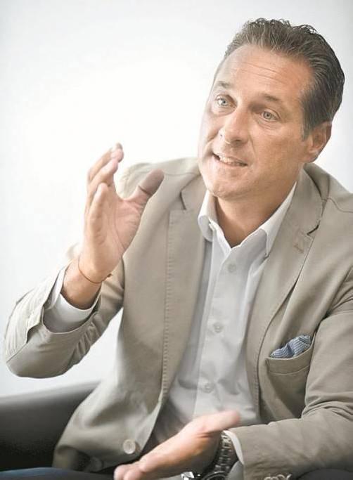 Straches FPÖ verliert in Umfrage drei Prozentpunkte. Foto: APA