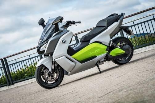 Studie eines E-Scooters mit 100 Kilometern Reichweite. Foto: werk