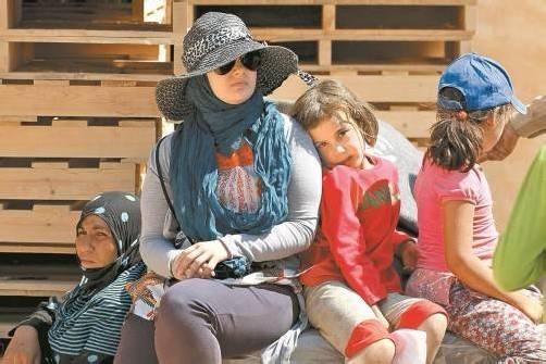 Syrische Flüchtlingsfamilie in Jordanien. Foto: Reuters