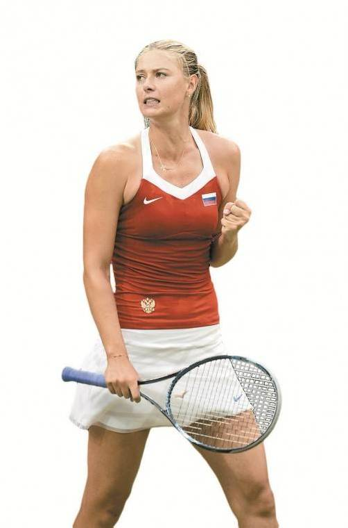 Tennisspielerin Maria Scharapowa setzt auf Head. Foto: EPA