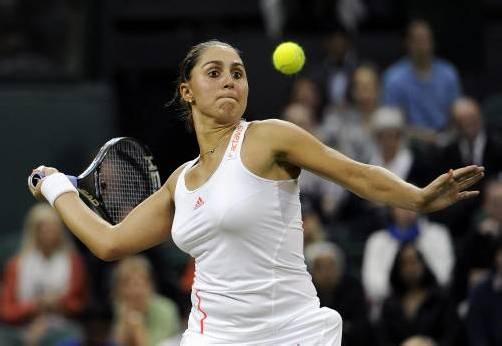 Tennisspielerin Tamira Paszek schwört auf die Produkte von Head. Epa