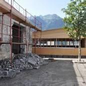 Bauarbeiten für Gastro-Schule im Zeitplan
