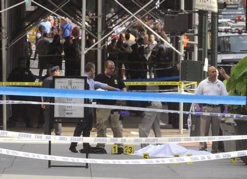 Vor dem Empire State Buidling kam es gestern zu einer wilden Schießerei mit zwei Toten und neun Verletzten.